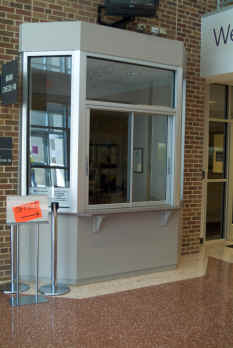 Sliding Drive Through Window for Richardson High School